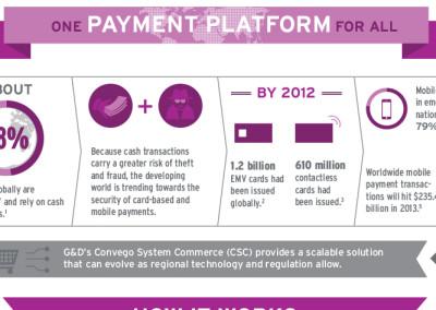 G&D Payment Platform Infographic