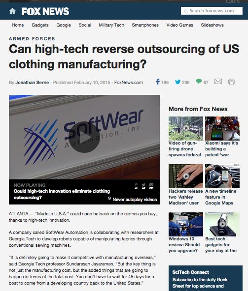 Fox News Can high tech article