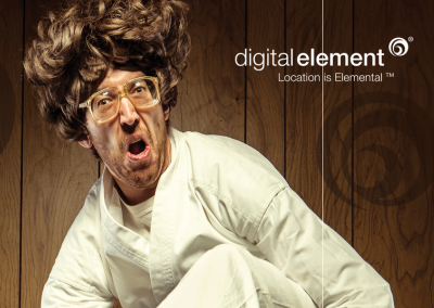 Digital Element Print Ad