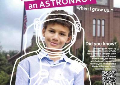 Atlanta Science Festival Poster Concept