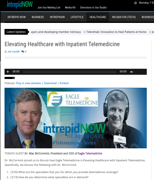 ET - Elevating Healthcare with Inpatient Telemedicine