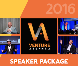 Venture Atlanta Speaker Package