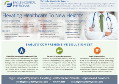 Eagle Hospital Physicians – Fact Sheet