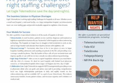 Eagle Telemedicine – Night Shift Solutions