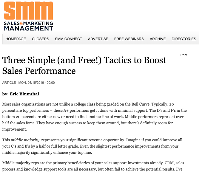 SMM Article