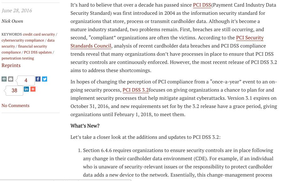 Security Magazine Article P3